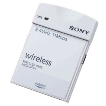Sony SNCA-CFW1 Wireless LAN card