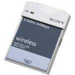 Sony IPELA SNCA-CFW5 IEEE802.11b/g wireless networking Compact Flash card with 54Mbps transfer speed