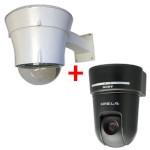 Sony SNC-RX550P PTZ network camera – outdoor bundle