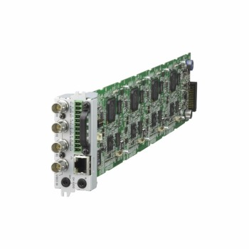Sony SNT-EX154 4-port blade network video encoder with XDNR, intelligent video and audio detection