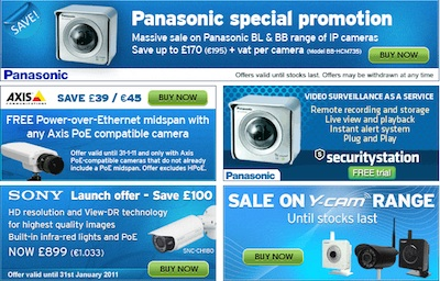 Network Webcams Special Offers