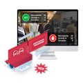 CamStreamer Store Occupancy Manager App for management of premises with Axis IP cameras - single camera licence