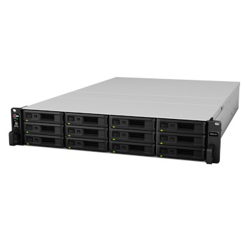 Synology RS3617xs+ RackStation network attached storage (NAS) device, 12-bay, up to 120TB storage