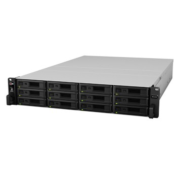 Synology RX1217 expansion unit for use with RackStation NAS devices, up to 120TB of additional storage