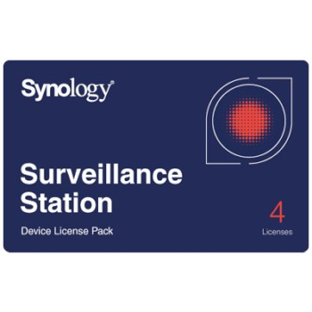 Synology Surveillance Station video management software - 4 device licence pack