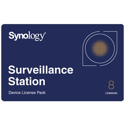 Synology Surveillance Station video management software - 8 device licence pack