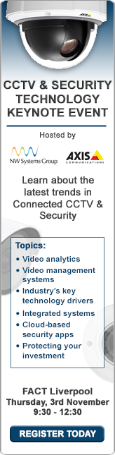 Sign up for the Axis / NW Systems CCTV and Security keynote event and learn about recent changes in IP-based CCTV
