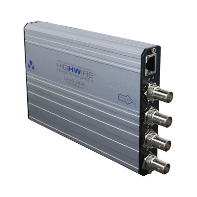 Veracity Highwire VHW-HWPS-B4 (base unit) four channel Ethernet and PoE over coax unit