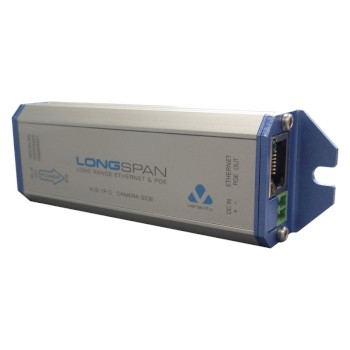Veracity Longspan network connection extender (client unit) with PoE support up to 1km