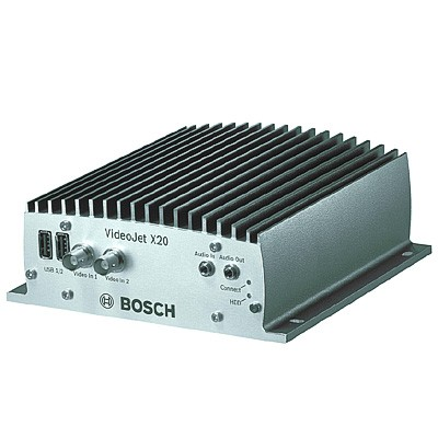 Bosch Videojet X20 rugged compact video encoder with 2-way audio and compact flash recording – 2 port
