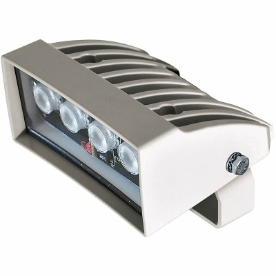 Videotec GEKO IRH60HWA LED white light illuminator, hi-power, 60° wide beam, range up to 40m