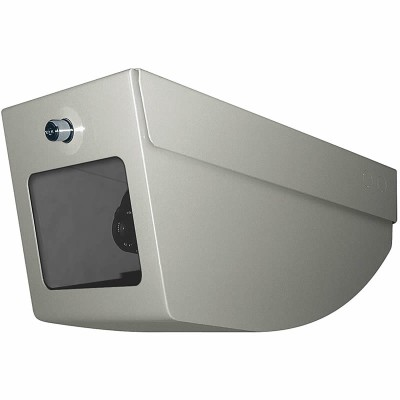 Videotec AVTPSC vandal-resistant steel ceiling housing for indoor installation with lock