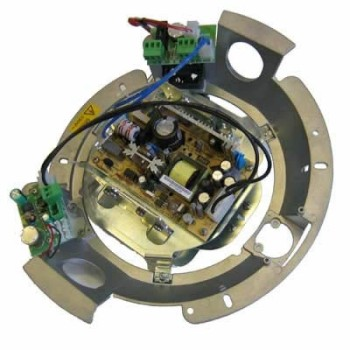 Videotec ODBH18H110 Camera adaptor 115-230V CA for use with DBH18KOF028 and 22 housings