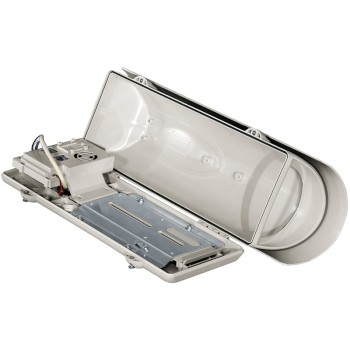 Videotec VERSO Hi-PoE IPM polycarbonate outdoor housing with built in Power over Ethernet (PoE)