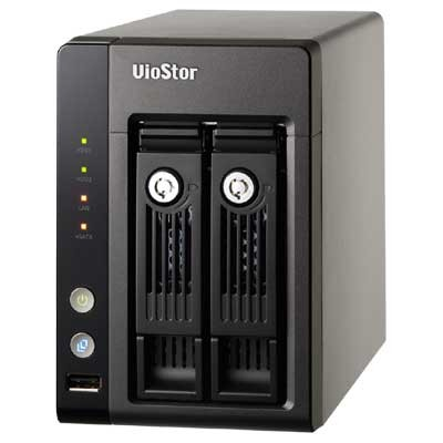 QNAP VioStor VS-2108 PRO+ Network Video Recorder with 8 channels and up to 8TB storage