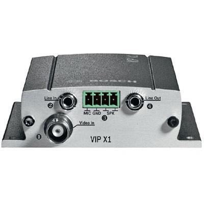 Bosch VIP-X1AP compact video encoder 2-way audio PoE – 1 port