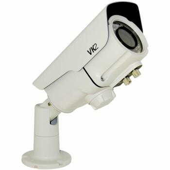 Vista VK2 1080BIR35V16E outdoor IP camera with varifocal lens, HD 1080p, 20m infrared night-vision, SD card slot and PoE