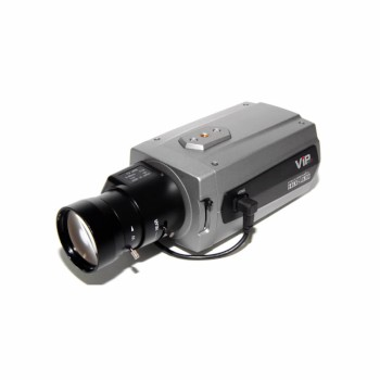 Vista VK2 1080BXDNe indoor box IP camera with HD 1080p, true day/night, two-way audio, PoE and edge storage
