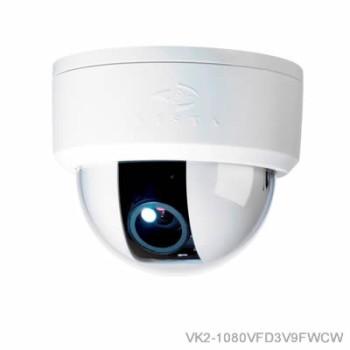 Vista VK2 1080VFD indoor IP camera with full HD 1080p, true day/night, varifocal lens, PoE and MicroSD card recording