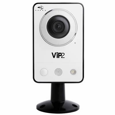 Vista VK2 2MPCCPL mini indoor 2 megapixel IP camera with PIR sensor, white light LED, two-way audio, PoE and SD storage