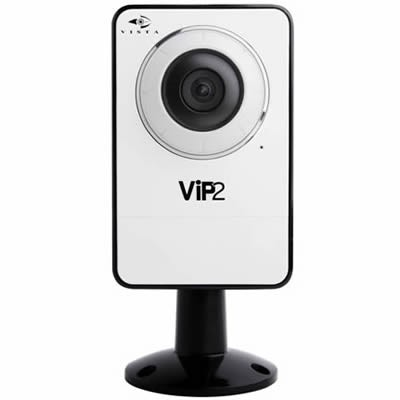 Vista VK2 2MPCCW compact indoor wireless IP camera with 2 megapixel resolution, 70° view and MicroSD card recording