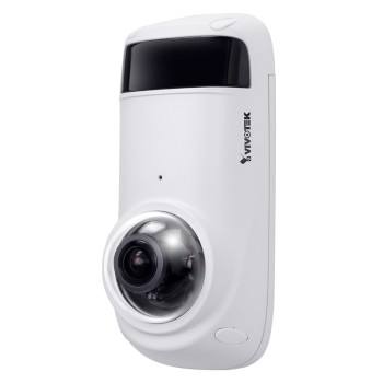 Vivotek CC9381-HV outdoor anti-ligature IP camera with 5MP resolution, 180° view, one-way audio, up to 15m IR and PoE