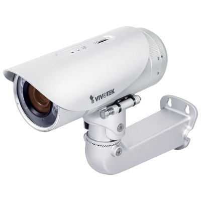 Vivotek IB8381 outdoor bullet IP camera with 5MP resolution, 30m IR night-vision, Smart Stream, Smart Focus and PoE
