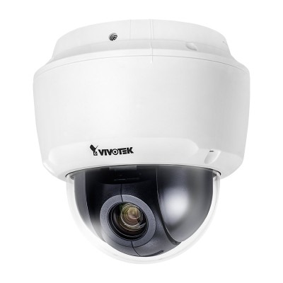 Vivotek SD9161-H indoor PTZ speed dome IP camera with HD 1080p, 360° panning, 10x optical zoom, WDR Pro and PoE