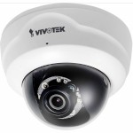 Vivotek FD8154 indoor dome network camera with 1.3 megapixel resolution, 20m IR night-vision and Supreme Night Visibility