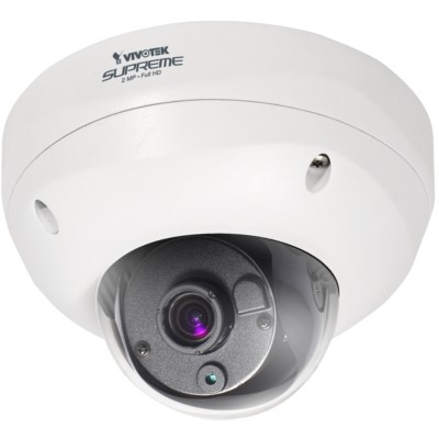 Vivotek FD8362E outdoor IP camera with HD1080p resolution, Smart Focus System, MicroSD and on-board heater