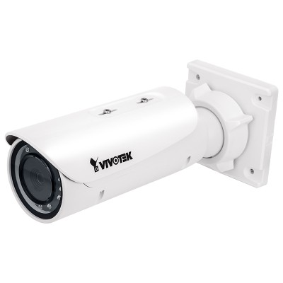 Vivotek IB8382-T outdoor bullet IP camera with 5MP resolution, 30m Smart IR, WDR Enhanced, remote focus and PoE