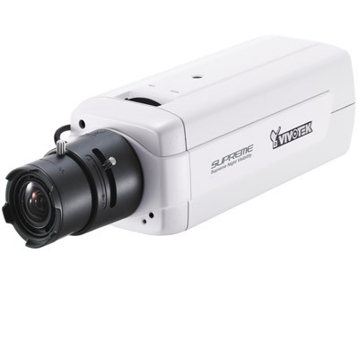 Vivotek IP8151 fixed indoor IP camera with Supreme Night Visibility, WDR, Activity-adaptive streaming, SD card recording