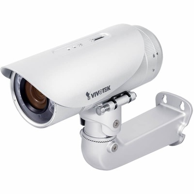 Vivotek IP8355EH outdoor bullet IP camera with HD 720p, 30m Smart IR night-vision, WDR Pro, Smart Focus System and PoE