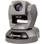Vivotek PZ8121 network camera with pan, tilt and 10x zoom, 2-way audio, PoE, low-light mode and bundled recording software