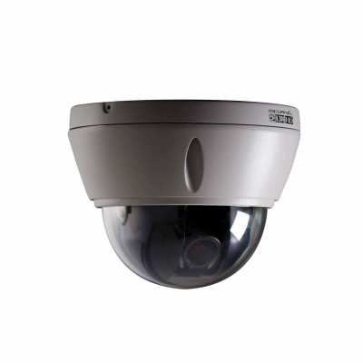 Vista VK2 1080VRD3V9 outdoor vandal-resistant IP dome camera with HD 1080p, true day/night, audio, PoE and edge storage