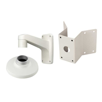 Wisenet corner mount kit for use with Wisenet dome IP cameras