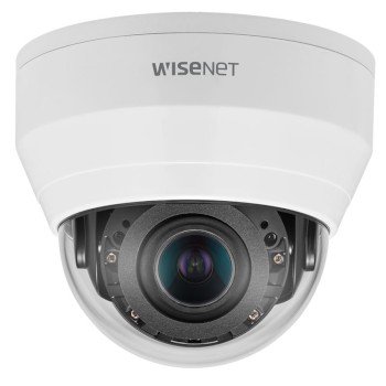 Wisenet QND-8080R indoor IP camera with 5MP resolution, varifocal lens, up to 20m IR, WDR technology and PoE