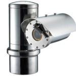 Samsung Wisenet TNU-6320E ATEX-Certified stainless steel IP camera with 2MP resolution, intelligent VA & 32x optical zoom